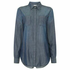Maison De Nimes Worlds End Denim Shirt