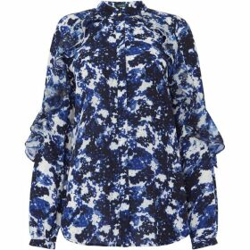 Lauren Kyleigh long sleeve printed shirt