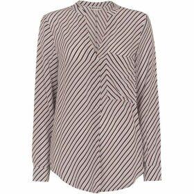 Whistles Contrast Stripe Shirt
