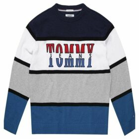 Tommy Hilfiger Tommy Jeans Retro Colourblock Sweater