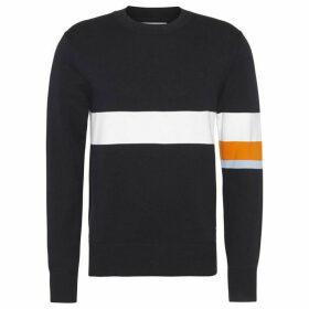 Calvin Klein Jeans CK Jeans Colour Stripe Cotton Sweater