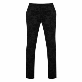 Twisted Tailor Twisted Mens Fleet Floral Suit Trousers