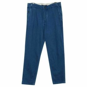 French Connection Double Indigo Chambray Trousers