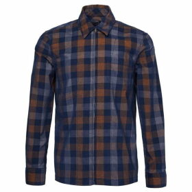 French Connection Dobby Check Corduroy Shirt