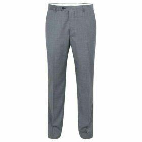 Paul Costelloe Soho Sharkskin Wool Suit Trousers