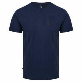 Luke Skinny Peach Slim Fit T-Shirt