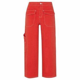 Whistles Carpenter Crop Trouser