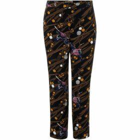 Biba Crane print tailored trouser