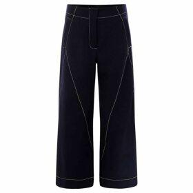 Sportmax Code Marisa contrast seam detail trousers