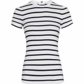 Tommy Hilfiger Skinny Fit Rib T-Shirt