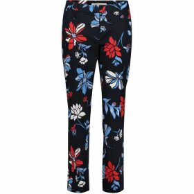 Betty Barclay Floral Print Trousers