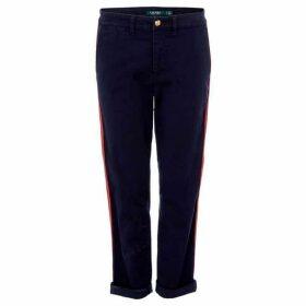 Lauren by Ralph Lauren Kalexis side stripe trouser