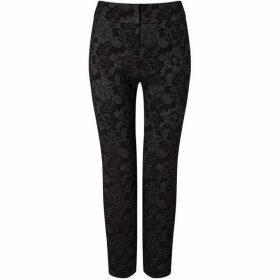 Phase Eight Erica Metallic Jacquard Trousers