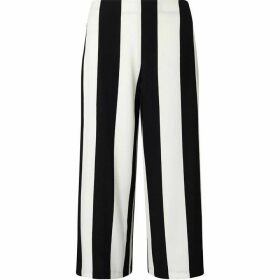 James Lakeland Monochrome Stripe Culottes