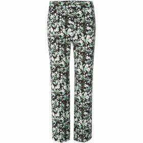 Marella Arad floral printed trousers