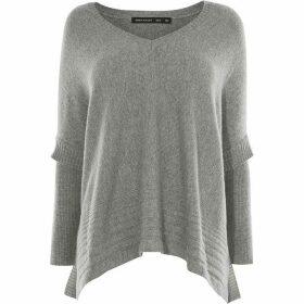 Karen Millen Skinny Sleeve Poncho Knit