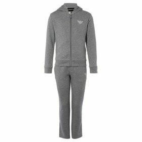 Armani SET LOGO HOODED TRACKSUIT SET