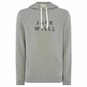 Jack Wills Long Sleeved Batsford Pop Over Hoodie