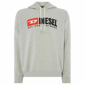 Diesel Hate Couture `Not Cool Anymore` Overhead Hoodie