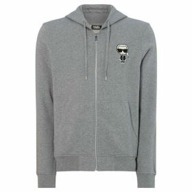 Karl Lagerfeld Zip through Hoodie