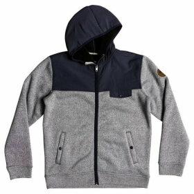 Quiksilver Keller Zip-Up Polar Fleece Hoodie