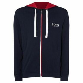 Boss Authentic zip thru hoodie