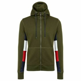 Tommy Hilfiger Tommy Colourblock Logo Zip Up Hoodie