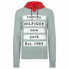 Tommy Hilfiger Graphic Contrast Detail Hoodie