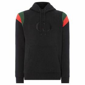 Criminal Damage Shoulder Stripe Hoodie