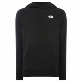 The North Face Raglan Red Box Logo Hoodie