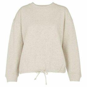 Whistles Gathered Hem Sweatshirt