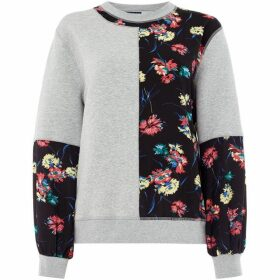 Sportmax Code Megaton floral sweatshirt