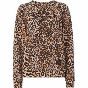 Whistles Leopard Print Sweatshirt