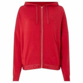 Calvin Klein Full zip lounge hoodie