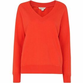 Whistles V Neck Sweatshirt
