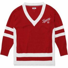 Tommy Jeans Varsity Knit Sweatshirt