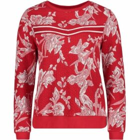 Betty Barclay Floral Textured Sweatshirt