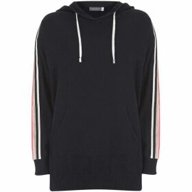 Mint Velvet Navy Longer Line Hoodie