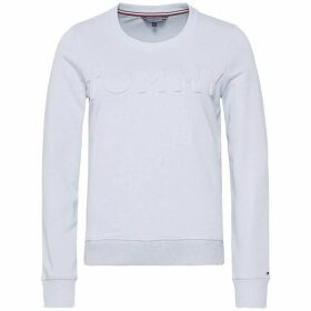 Tommy Hilfiger Tommy Embossed Crew-Neck Long Sleeve Sweatshirt