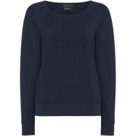 Armani Exchange Long Sleeve Crew Neck Sweatshirt