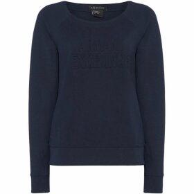 Armani Exchange Long Sleeve Crew Neck Sweatshirt