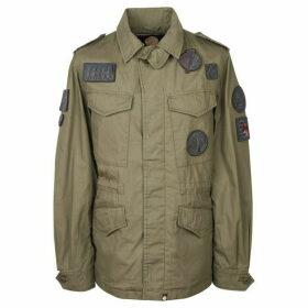 Pretty Green Four Pocket Badge Jacket