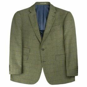 Racing Green Herringbone Check Athletic Jacket