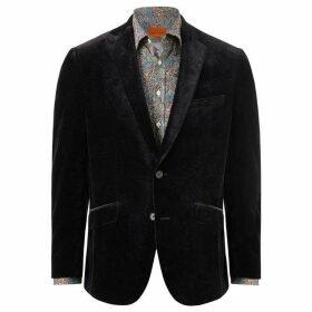 Simon Carter Velvet Large Paisley Jacket