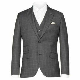 Gibson Grey Check Jacket