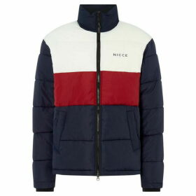 Nicce Block Coloured Padded Jacket