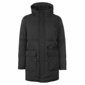Label Lab Alpha Hooded Zip Through Puffa Coat