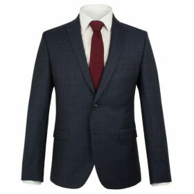 Ben Sherman Navy Check Flannel Camden Jacket