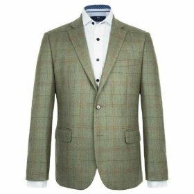 Paul Costelloe Ward Checked Wool Jacket