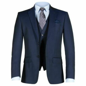 Alexandre Weston Blue Twill Jacket
